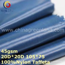 Tecido de tafetá de nylon tecido impermeável para Sportswear (GLLML324)