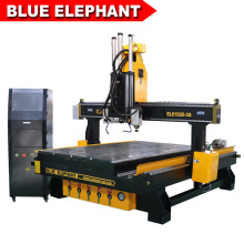 Discount Price 1325 4D CNC Wood Carving Machine with 3 Spindles