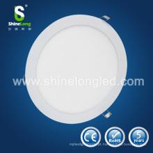 O CE / RoHS aprovou a luz de painel 10W conduzida redonda