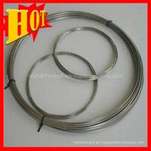 Gr2 Titanium Polised Wire en forma de bobina