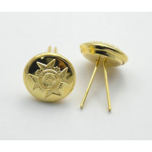 New design fashion army buttons wholesale