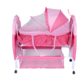 Adorable Beetle Pattern Baby Cot and Cradle