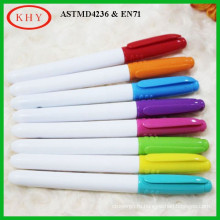 Easy to lock on Book Conform to ASTMD-4236/EN71 Fluorescent Pen with Clip
