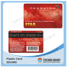 Offest Printing Barcode / Magnetstreifen / Metall VIP Karte