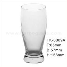 Pilsner estilo de vidrio soplado Copa de beber (GB060312)