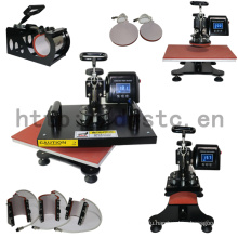 Sublimation 8 in 1 Digital Combo Heat Press Machine