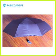 Ligero 3 paraguas plegable para la promoción