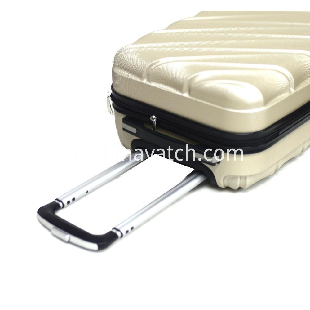 shiny luggage set
