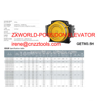 traction machine XIZI forvorda GETM3.5H