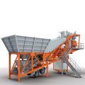 Used Mobile Concrete Batching Plant