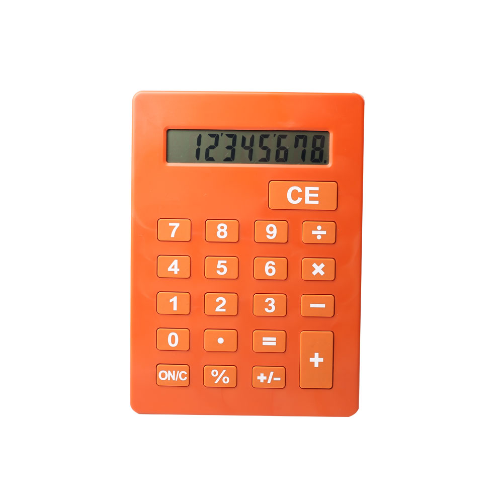 8 Digits Big Size Business Desk Calculator with Bracket