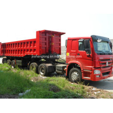 HOWO Tractor Truck 371HP with Tubeless Tyres