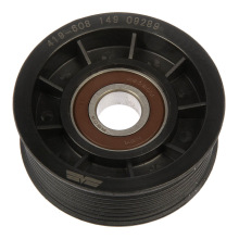 aluminum grooved idler pulley for transmission