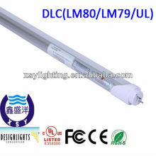 3/5 years warranty ul/dlc listed 120cm t8 led light tube