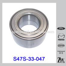 Pièces de rechange Roulement de roue avant pour Mazda MZ S47S-33-047