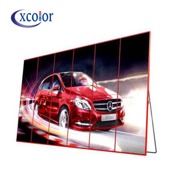 LED Video Advertising Machine Floor Stand Wireless Control