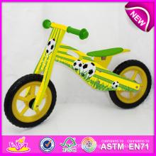 2014 nuevo juguete de madera de la bicicleta para los niños, juguete popular de madera de la balanza de la bici para los niños, bicicleta de madera del juguete de madera para la fábrica W16c081 del bebé