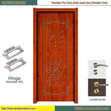 Porte en bois cuite principale en bois porte en bois fournisseur