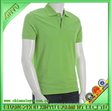 2016 Hot Sale Green Plain/Embroidery Polo Shirt for Promotion