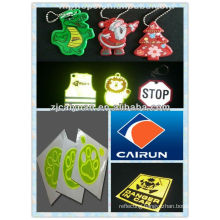 reflective PVC sticker,key chain
