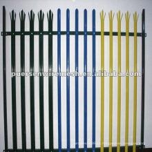 De alta calidad D o W Pales Palisade valla fabricante de PVC (CN)