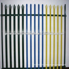 High Quality D or W Pales Palisade Fence PVC Manufacturer(CN)