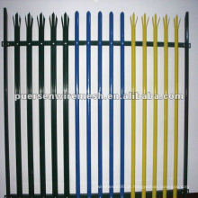 Alta Qualidade D ou W Pales Palisade Fence PVC Fabricante (CN)