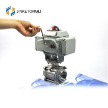 JKTLEB128 automated ss dn50 grinding machine ball valve