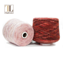 Superfine alpaca wool polyamide yarn