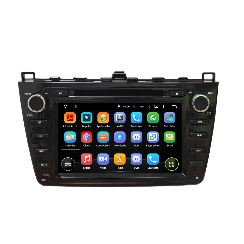 GPS Navigation car dvd player for MAZDA