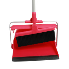 Amazon hot sale Detachable Handle Plastic long Broom And Dustpan Sets