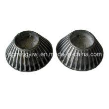LED Alimunum Die Casting Parts avec traitement en poudre Revêtue Fabriqué en usine chinoise