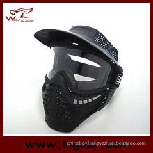 Military Airsoft Scott Full Face Aps Heavy Duty Face Mask with Anti-Fog Lens