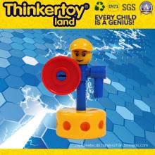 DIY Pfau-Modell pädagogische Spielwaren Gehirne Block Spielzeug
