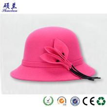 उच्च गुणवत्ता फैशन अनुकूलित टोपी शरीर महसूस किया
