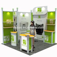 Sistema de cabine modular de alumínio 10x20 a 10x10 da Detian