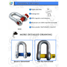 U. S. G210 Alloy Steel Screw Pin Chain Shackles