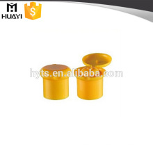 24/415 champignon shape flip top plastic shampoo bottle caps for baby shampoo bottle