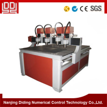 Four Heads Cnc Carving Machine