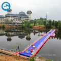 high bouyancy boat hoist for sale high quality in China Pontoon floating dock