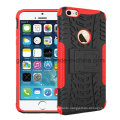 Wholesale Kickstand Shockproof Robot Hybrid Combo Mobile Phone Case for iPhone6