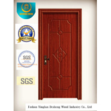 Chinese Style Water Proof MDF Door with Solid Wood for Interior (xcl-813)