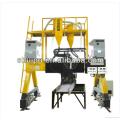 Simple automatic door type rail welding machine operator