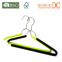 Garment Usage Soft Espuma Metal Hanger Tender (TP810)