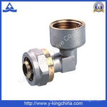 Brass Compression Elbow Fitting for Compressite Pipe (YD-6058)