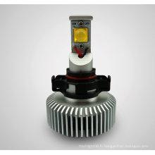 5202 CREE 18*2W Blanc AC/DC8-28V Lampe frontale LED
