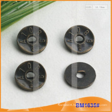Zinc Alloy Button&Metal Button&Metal Sewing Button BM1635