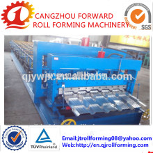 Cascata 21 Cores Metal Telhas Vitrificadas Roll Forming Machine