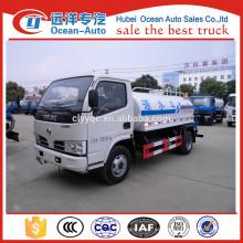 Camión del bowser del agua de DFAC 4x2 con la capacidad 5000L de la fábrica original para la venta