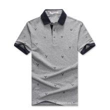 Microfibra pima algodón polo camisa diseño fábrica de china